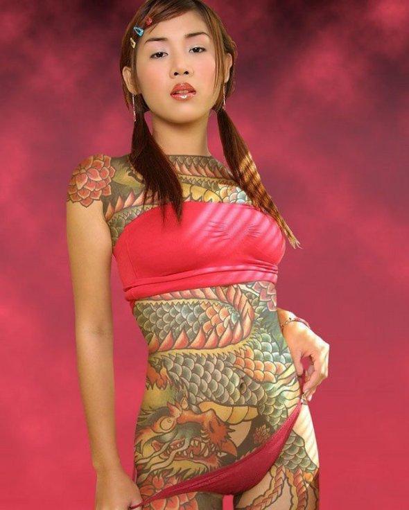 japonaise-tatouee