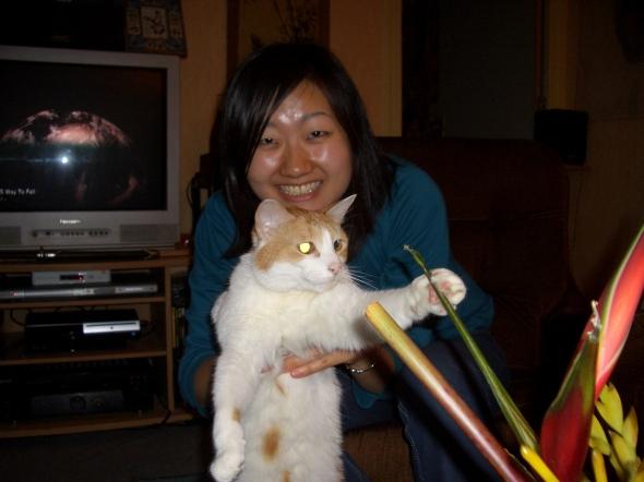 avec Sayaka