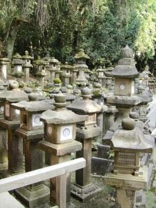 lanternes de pierre