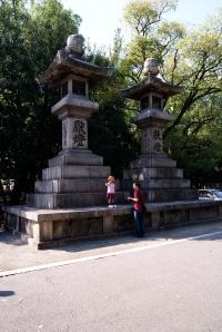 lanternes de pierre sumiyoshi