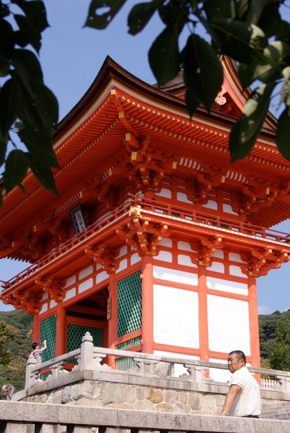 arrivée Kiyomizu-dera