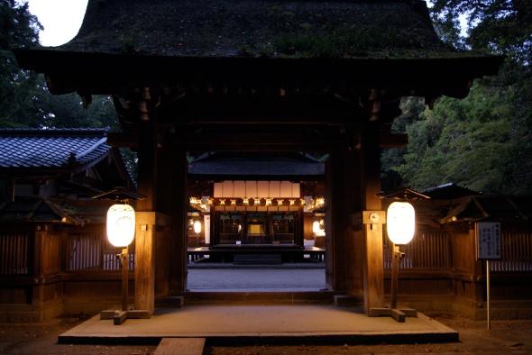 temple en nocturne