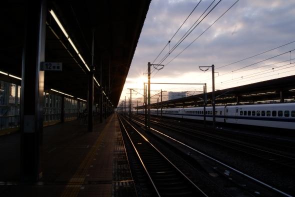 Shinkansen, gare de Shin Fuji