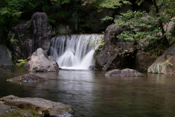 cascade du printemps