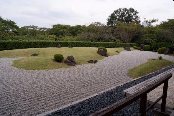 jardin maison de thé