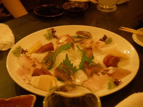 sashimi qui flinguent et qui fondent