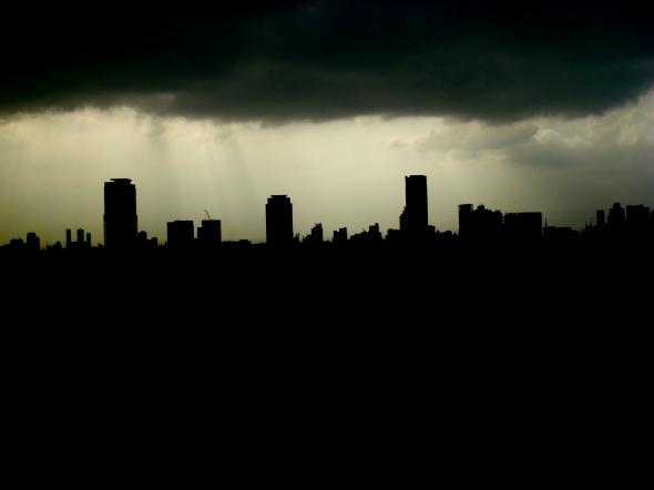 silhouettes urbaines