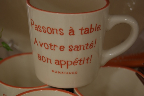 Passons à table